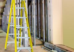 Escalera de tijera en fibra de vidrio acceso doble